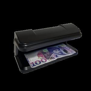 ფულის დეტექტორი NX115 გვერდითა მხარე